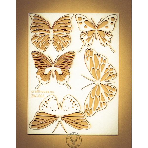 Motyle zestaw ZW-003