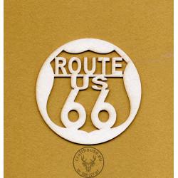 TABLICZKA ROUTE US 66 VINTAGE IN-087