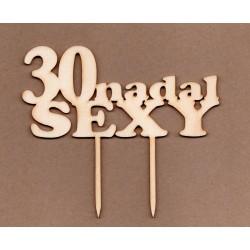 "TOPPER ""30 NADAL SEXY"" SKLEJKA TO-010"