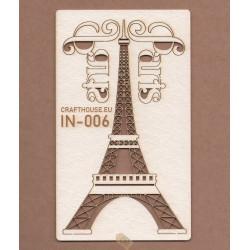 WIEŻA EIFFLA + 2 NAPISY PARIS IN-006