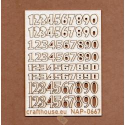 CYFRY 1-9 MIX NAP-0667